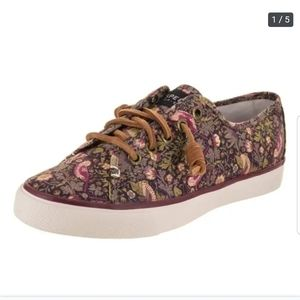 Sperry Top-Sider Seacoast Liberty Floral Print 6.5